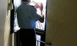 Toque de trompeta en la torre de Santa María