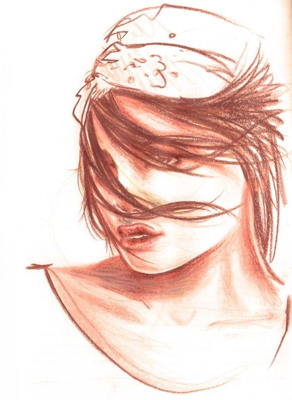 Sketch lapis de cor