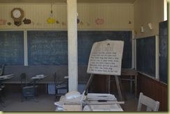 Bo Inside School House