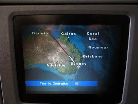 Aterizare la Sydney, Australia