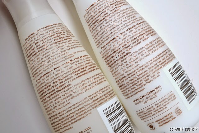 Live Clean Coconut Milk Shampoo and Conditioner Review (2)