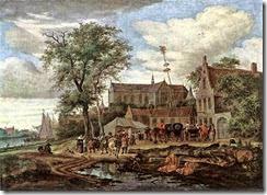 800px-Salomon_van_Ruysdael_-_Tavern_with_May_Tree_-_WGA20577