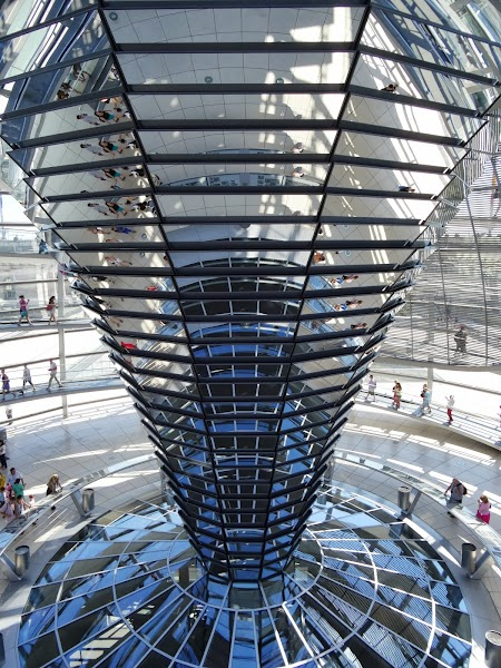 Obiective turistice Berlin: Cupola Bundestag