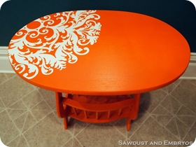 Orang End Table