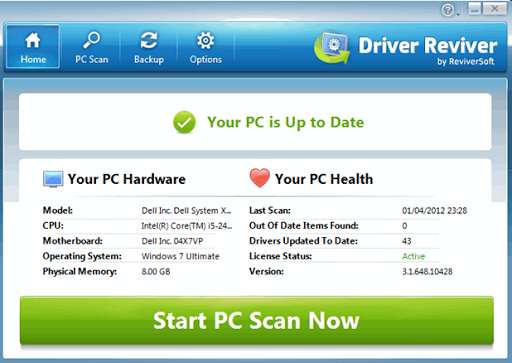 driver reviver automatically update windows drivers driver reviver brings outdated device drivers up to speed 618x438