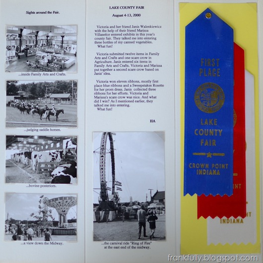 2000 Lake County Fair out of Dad's album