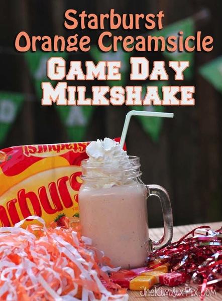 Starburst Orange Creamsicle Milkshake