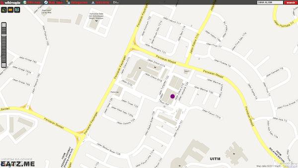Lontong Kelang Restaurant Map Shah Alam