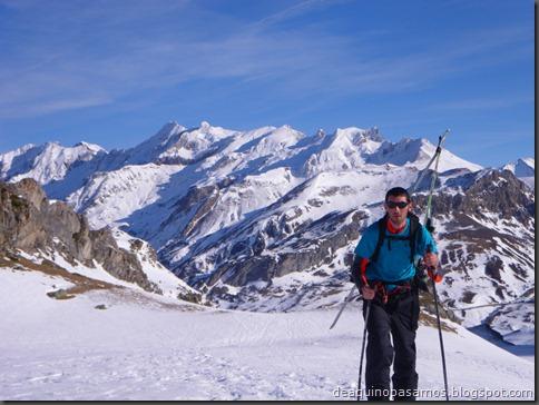 Pico de Canal Roya 2345m con esquis (Portalet, Pirineos) (Isra) 7307