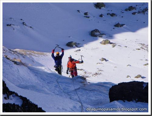 Cascada Os Diaples de Panti 180m MD- WI4  90º (Canal Roya, Pirineos) (Isra) 8490