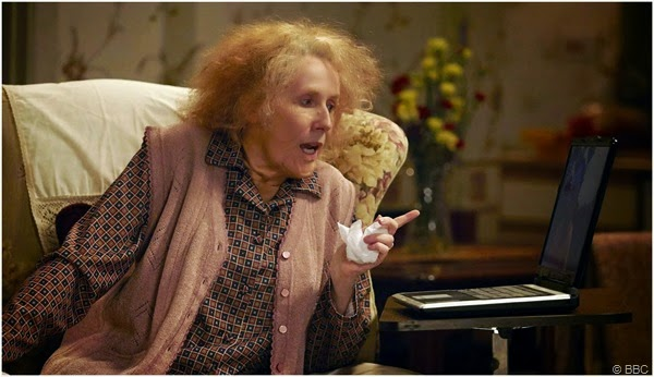 "Catherine Tate as ""Nan"""