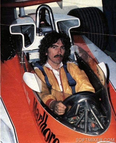 George Harrison McLaren Formula 1 One