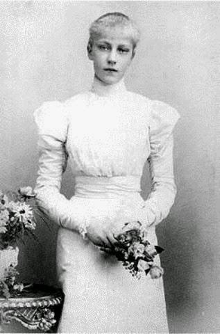 La archiduquesa Isabel María de Habsburgo.