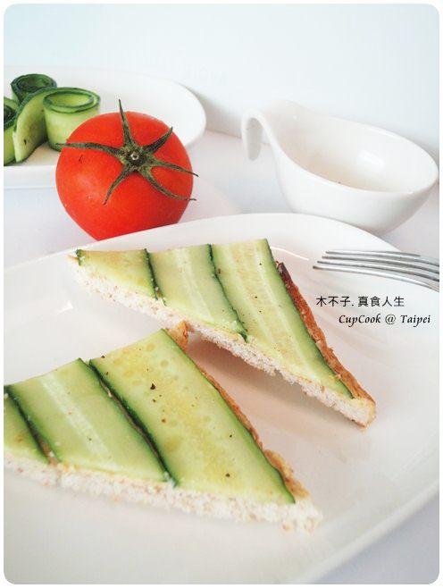 奶油小黃瓜烤吐司 cucumber (1)