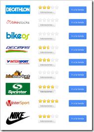tiendas online que compiten por ofrecer el mejor catálogo de productos y los mejores servicios