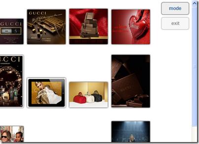 Immagini album Facebook in modalità Galleria