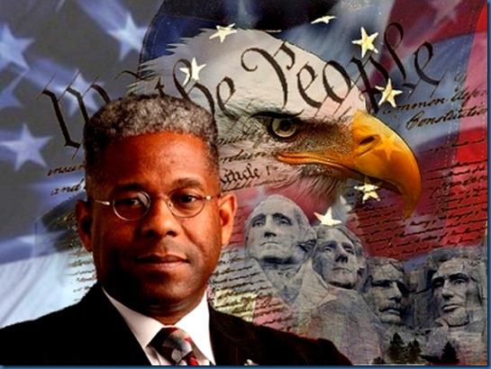Allen West, Constitution & Bald Eagle