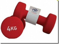 4kg Fitness Mad Weights