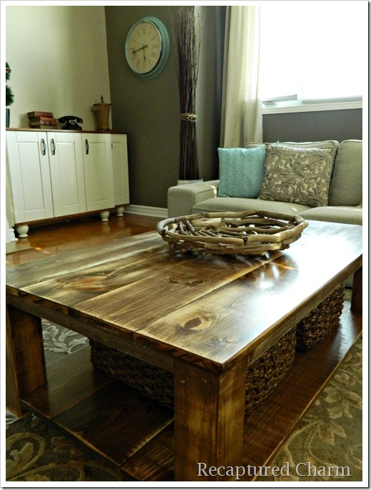 rustic coffee table 11