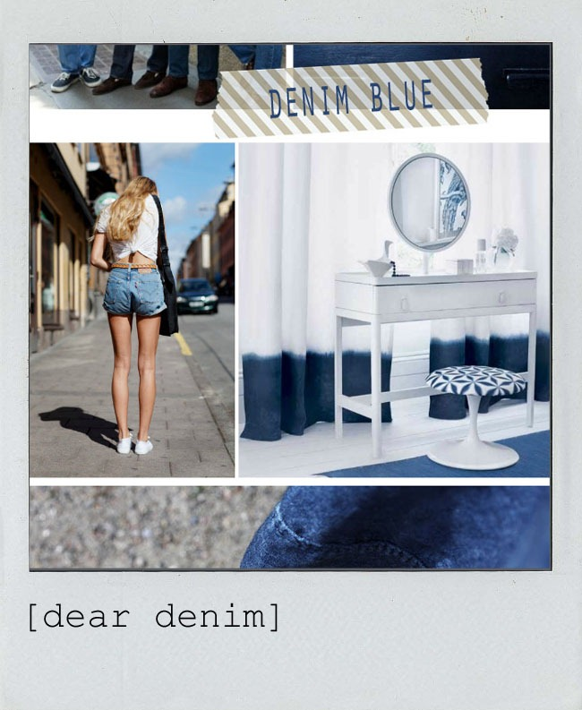 Dear Denim polaroid