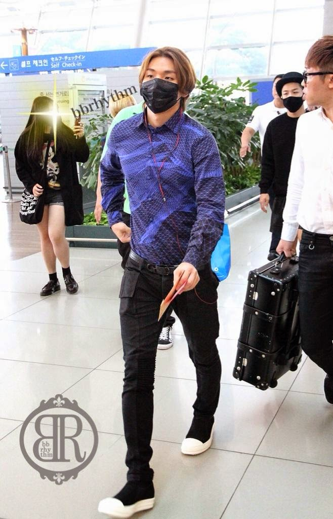Big Bang - Incheon Airport - 12sep2014 - Dae Sung - Fansite - BB Rhythm - 04.jpg