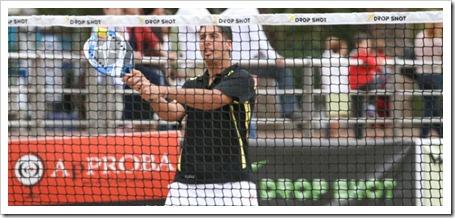 Román Dopico, jugador Drop Shot, acaba 4º en el Campeonato de Europa de Tenis Playa.