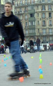 Notre Dame - Roller Bladers