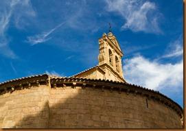 Salamanca romanesque church