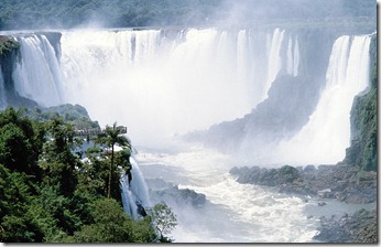 Wasserfälle von Iguacu, Paraguay/Brasilien