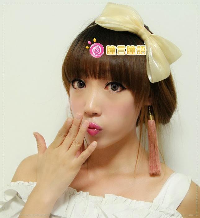 韓國GEO隱形眼鏡-GEO Eyes Cream 霜淇淋灰5