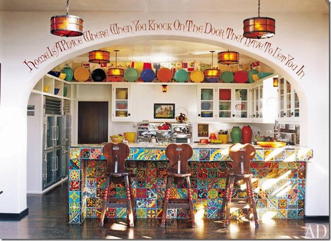 diane keaton's la kitchen