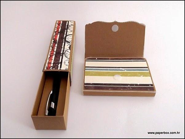Set Haftnotiz und Stiiftbox (2)