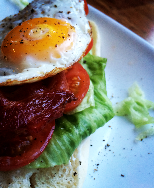 Fried Egg BLT