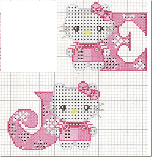 Ponto-Cruz-Abecedário-Hello-Kitty-J-E