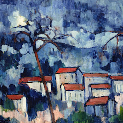 Vlaminck, Landscape with Red Roofs 1907