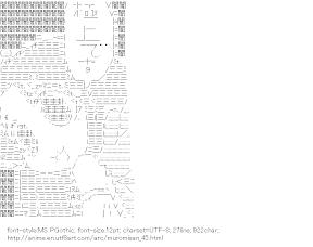 [AA]Yatagarasu (Namiuchigiwa no Muromi-san)
