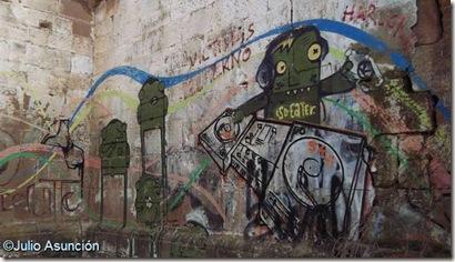 Grafitis de Guenduláin - Cendea de Cizur