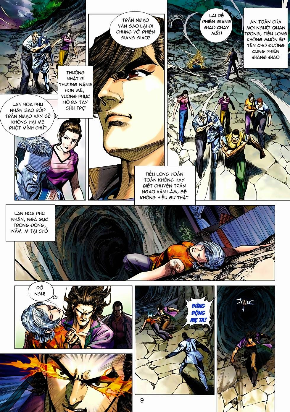 Tân Tác Long Hổ Môn chap 470 - Trang 9