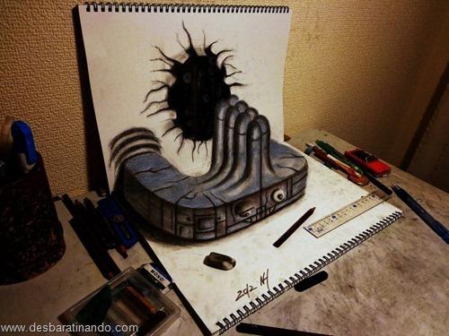 desenhos lapis 3D desbaratinando  (17)