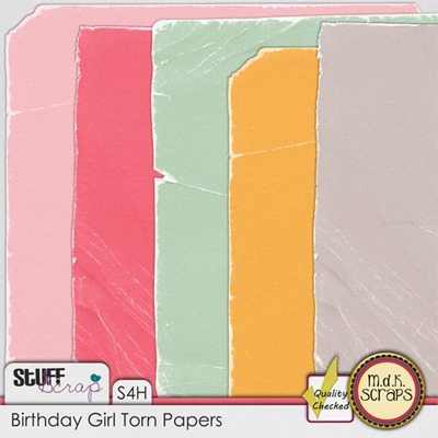 Birthday Girl - Worn Papers