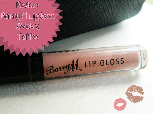 Barry M Lipgloss Shade 2 Toffee
