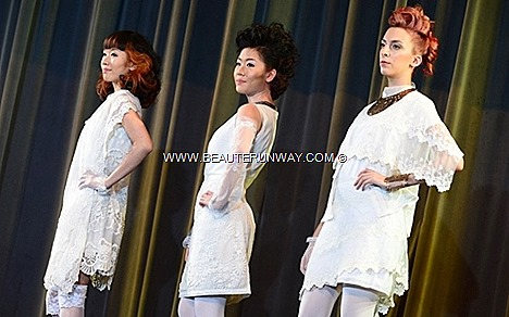 AVEDA Spring Summer 2013 hair color collection inspired flowers shapes leaves AVEDA CATWALKS FOR WATER Styling fashion runway KELTURE PARAGON SINGAPORE live' hairstyling dedication in raising funds to support clean water projects