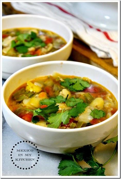 Fava Bean Soup Sopa de Habas1A