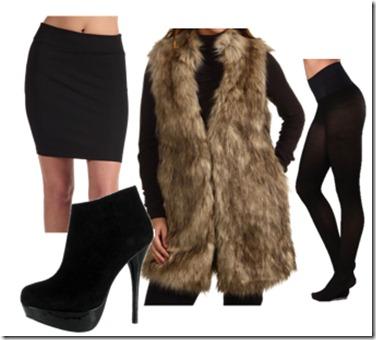 How-To-Wear-Long-Faux-Fur-Vest