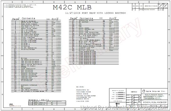 apple macbook a1185  fa255 m42c mlb  macbook white 13inch laptop schematics