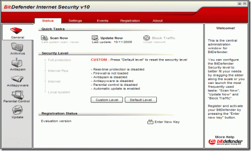 top 10 best free antivirus softwares programs-2012 Bit Defender
