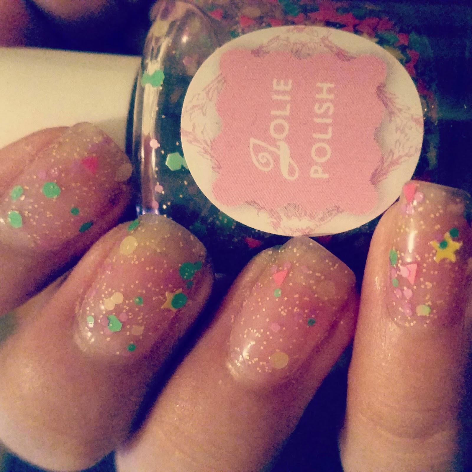 Sassy nail designs: Jolie Polish