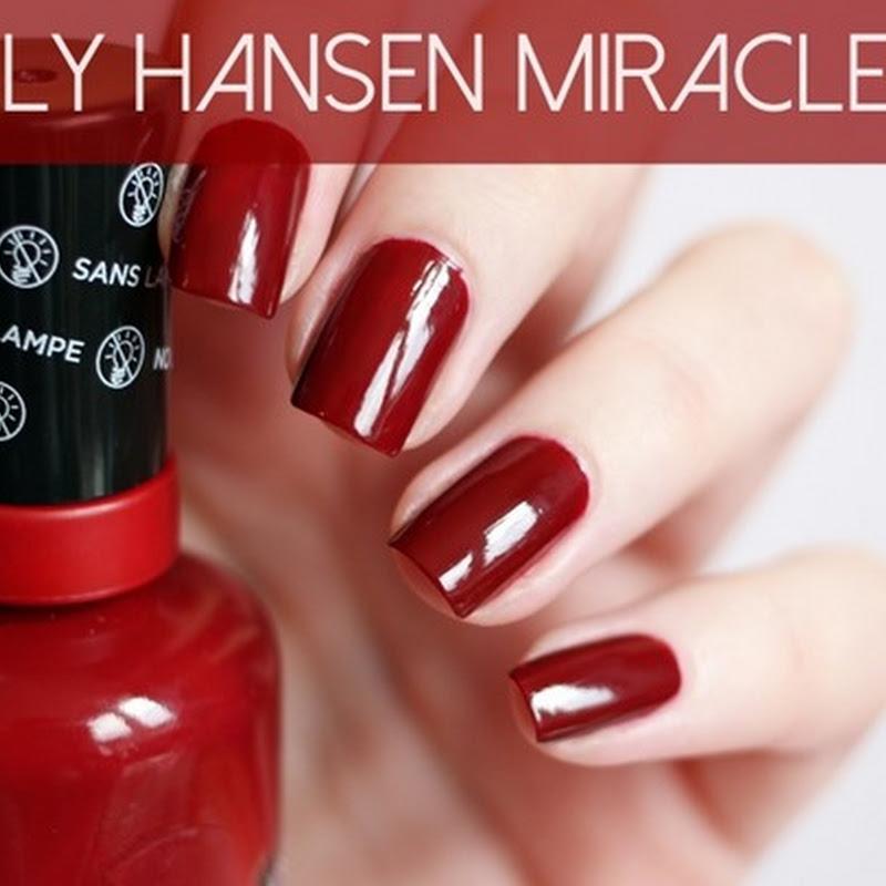 Sally Hansen Miracle Gel: Haltbarkeitstest