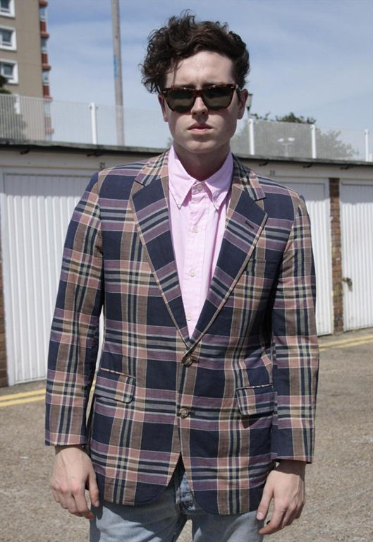 Vintage Summer Check Blazer, £40, Sam Greenberg Vintage