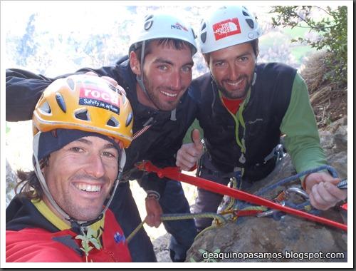 Via Diedro Sajuma 190m 6b  (6a A0 Oblig) (Peña Solano, Escarrilla) (Victor) 0613